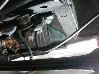 Kinked speedo cable