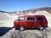 Roxanne / 87 Titian Red T3 Camper / July 2016