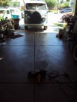 61 camper build, winch install