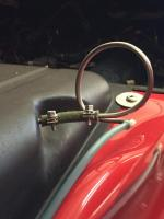 Fuel tank vent loop