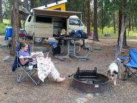 Flathead camping