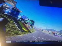 Tour de France busses