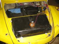 Removable hood panel