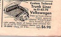 JC Whitney trunk liner-1970 catalog
