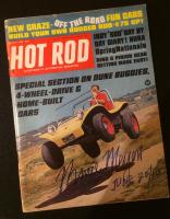 Bruce Meyers Signed Hot Rod Magazine August 1966