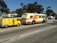 Bus towing bus