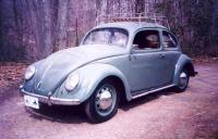 "'50 Bug wearing real ""Pre-A"" wheels, back in the day"