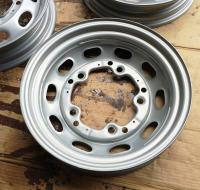 "China-repro 16"" Pre-A wheels, as received condition"