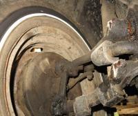tire rub