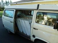what the van did...
