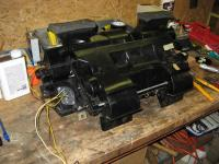 heater box with Jeep resistor