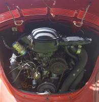 Engine Compartment 1974 standard