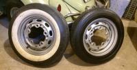 """China-repro 16"""" Pre-A wheels, tires - 16 vs. 15 garage comparo"""