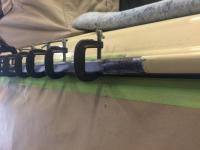 Vanagon rain gutter repair