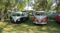 Various Split Buses at Nor-Cal Bus Fest 12 (Antioch, CA) 2016