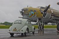 1952 VW meets B-17