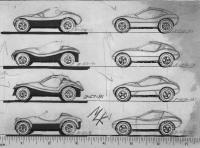 Mels dune buggy sketches