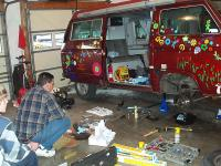 Working on the Westy