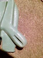 Repro Anthracite and Malachite green E-brake boot