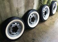 "China-repro 16"" Pre-A wheels, tires - time to lean, time to clean..."