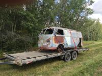 1955 Alberta Canada Barndoor find