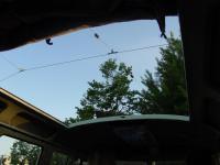 Standard sunroof view