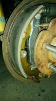 Vanagon drum brakes correct?