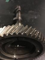 Worn cam gear