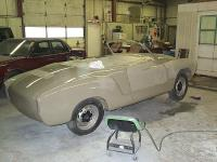 1966 Karmann Ghia Out of the Paint Booth