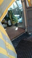 foyer tent on bus