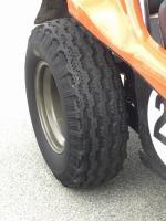 Gates comando tires on manx