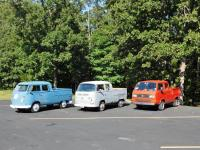 Three generations of Double-Cabs at the 31st BNNTA