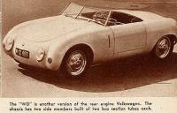 Coach-built VW Sports Car - builder unknown