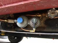 Switch over valve