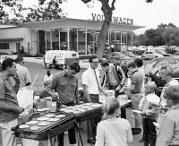 Breakfast at Jack Meaney VW in 1967
