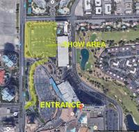 Map for Elite & Just Clean Vegas Show