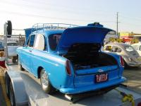 Custom Notchback - blue with flames