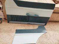 1959 dolphin blue coupe door panels
