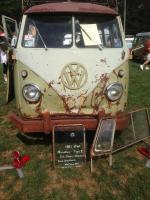 "Stan's 1961 Mango ""My Favorite Bus & Sticker"" at the Flanders Show"
