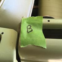 63 vert wedge scraper pieces