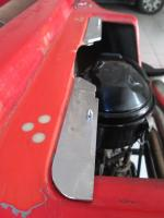 quick release spare wheel/hood