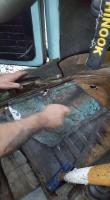 1973 VW Floor Repair
