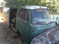 1969 Delta Green Bench Seat As Found
