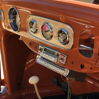 The dash in my 1957 beetle