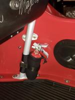 Extinguisher mount on Manxter
