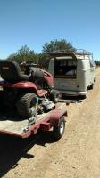 trailering a tractor with the swivel bus
