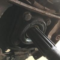 Rear bearing IRS