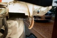 1971 bus battery tray and rear corner