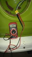 Testing headlamp voltage
