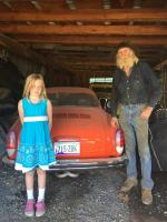 Uncle Don, My Daughter & His Ghia